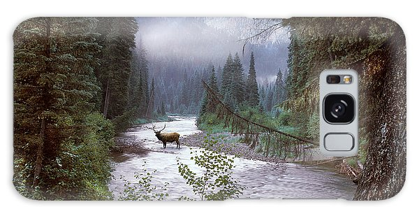 Elk Crossing 2 Galaxy Case