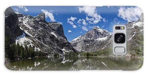 Elk Lake Panorama 1 Galaxy Case