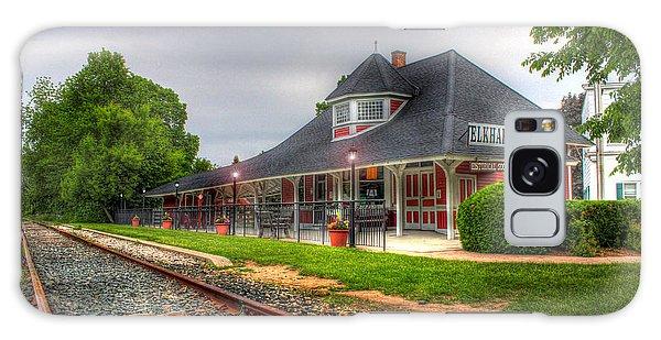 Elkhart Lake Historic Train Depot Galaxy Case