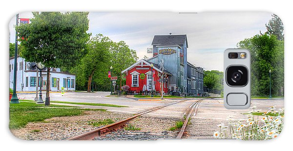 Elkhart Lake Off The Rail And Feed Mill Market Galaxy Case