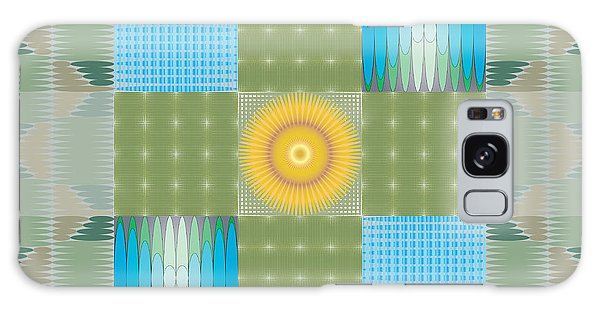 Ellipse Quilt 1 Galaxy Case by Kevin McLaughlin