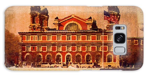 Ellis Island Galaxy Case
