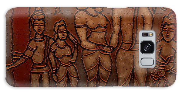 Ellora Galaxy Case by Latha Gokuldas Panicker