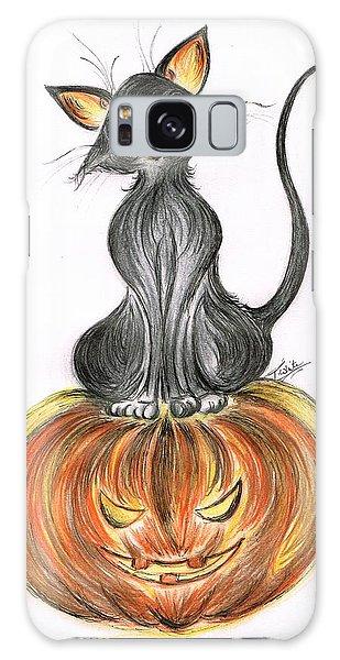 Elma's Pumpkin Galaxy Case by Teresa White