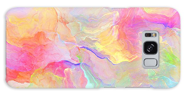 Eloquence - Abstract Art Galaxy Case by Jaison Cianelli