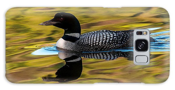 Elusive Loon Galaxy Case