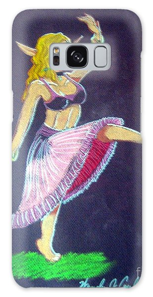 Elven Belly Dancer Galaxy Case