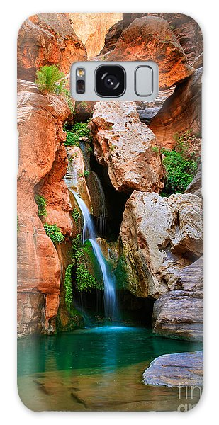 Southwest Usa Galaxy Case - Elves Chasm by Inge Johnsson