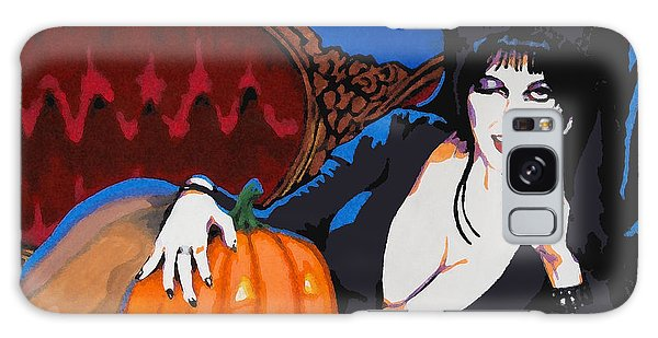 Elvira Dark Mistress Galaxy Case