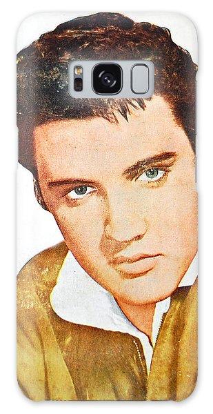 Elvis Colored Portrait Galaxy Case