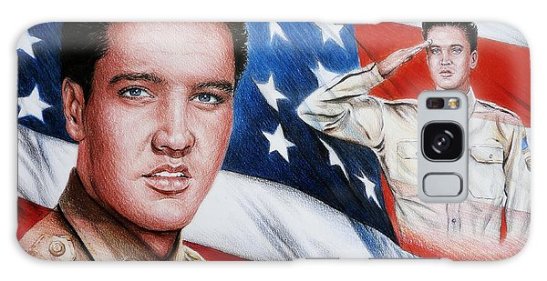 Elvis Patriot  Galaxy Case