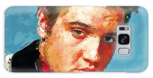 Elvis Portrait 3 Galaxy Case