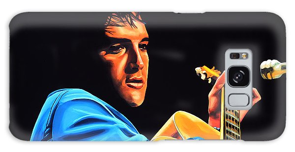Rhythm And Blues Galaxy Case - Elvis Presley 2 Painting by Paul Meijering