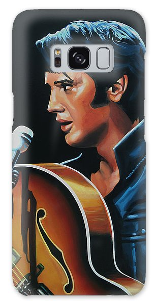 Rhythm And Blues Galaxy Case - Elvis Presley 3 Painting by Paul Meijering
