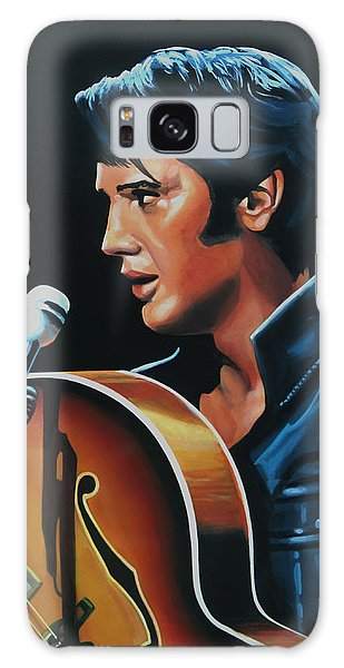 Realistic Galaxy Case - Elvis Presley 3 Painting by Paul Meijering