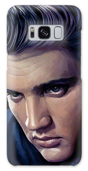 Elvis Presley Artwork 2 Galaxy Case
