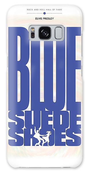 Elvis Presley - Blue Suede Shoes Galaxy Case