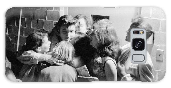 Elvis Presley Hugging Fans 1956 Galaxy Case