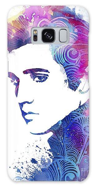 Elvis Presley Galaxy Case by Watercolor Girl
