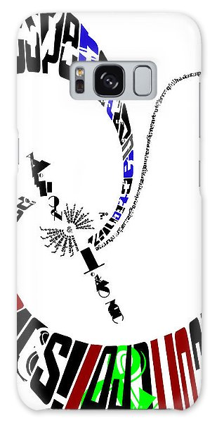 Elvis With Words Galaxy Case by Joseph A Langley