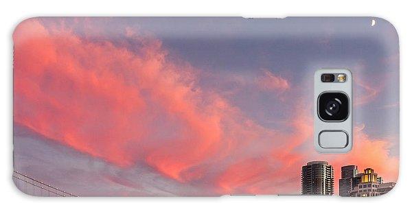 Embarcadero Sunset Galaxy Case
