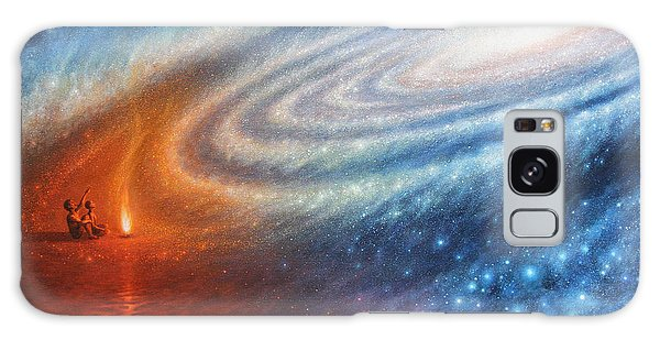 Embers Of Exploration And Enlightenment Galaxy Case