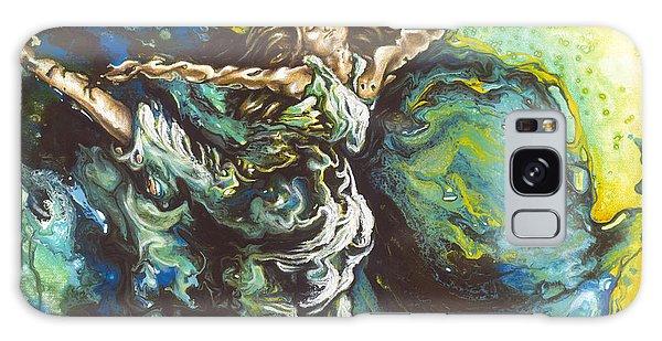 Disintegration Galaxy Case - Embrace by Karina Llergo