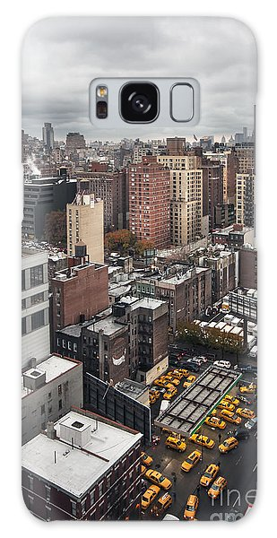 New York City Taxi Galaxy Case - Embrace The Chaos by Evelina Kremsdorf