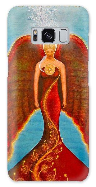 Emeliah Angel Of Inner Journeys Galaxy Case