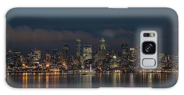 Emerald City At Night Galaxy Case