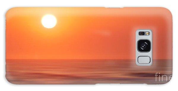 Emerald Isle Sunrise Galaxy Case