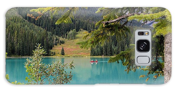 Emerald Lake British Columbia Galaxy Case