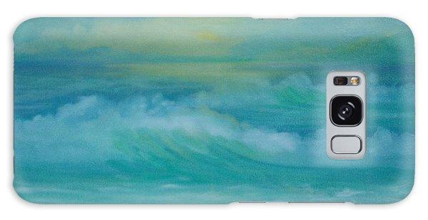 Emerald Waves Galaxy Case