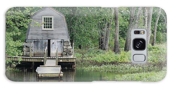 Emerson Boathouse Concord Massachusetts Galaxy Case