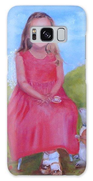 Emma In Wonderland Galaxy Case by Carol Berning