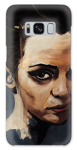 Emma Watson Galaxy Case by Matt Burke