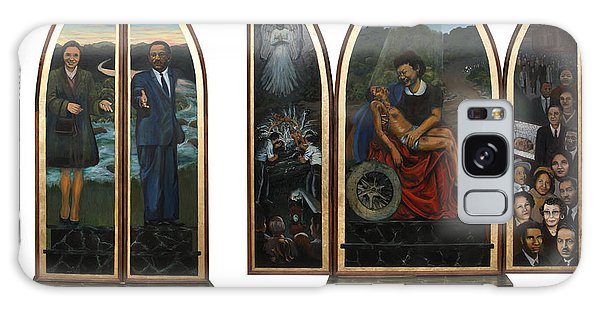 Emmett Till Memorial Triptych With The Outside And The Inside Galaxy Case
