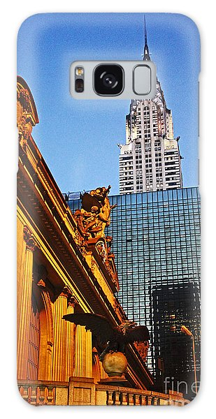 Empire State Galaxy Case by Alison Tomich