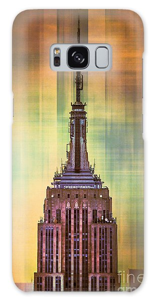 Cityscape Galaxy Case - Empire State Building 3 by Az Jackson