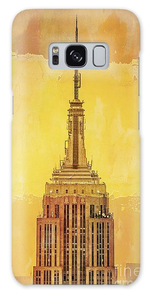City Scenes Galaxy S8 Case - Empire State Building 4 by Az Jackson