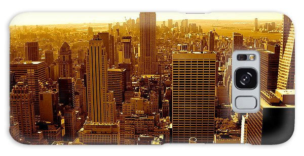 Manhattan And Empire State Building Galaxy Case