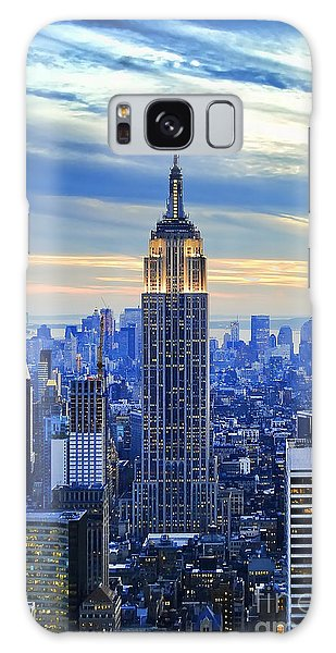 Empire State Building New York City Usa Galaxy Case by Sabine Jacobs