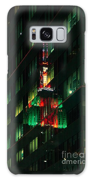Empire State Building Reflection Galaxy Case