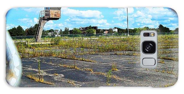Employee Parking Lot Galaxy Case by MJ Olsen