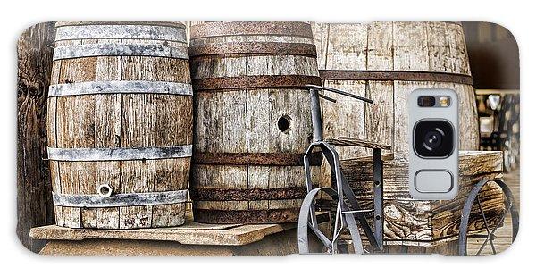 Emptied Barrels Galaxy Case by Heather Applegate