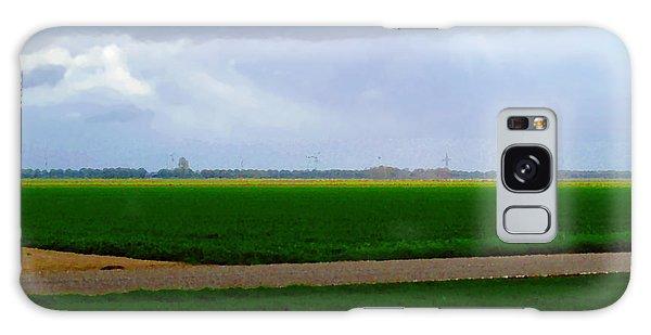 Galaxy Case featuring the digital art Empty Green by Luc Van de Steeg