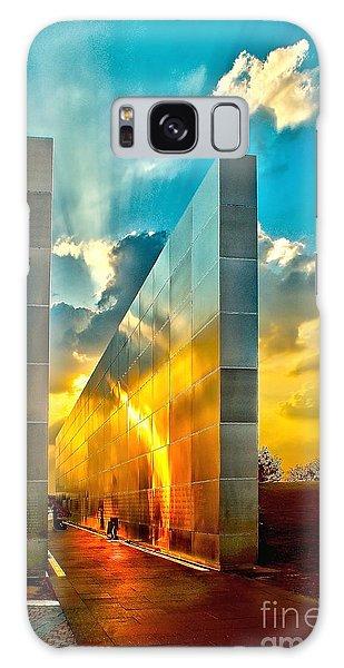 Empty Skies Sunset Galaxy Case by Nick Zelinsky