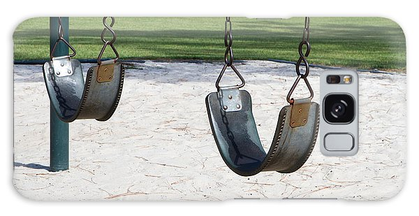 Empty Swings Galaxy Case