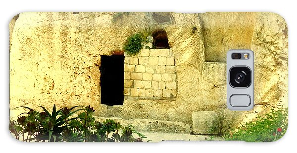 Empty Tomb Of Jesus Galaxy Case by Lou Ann Bagnall