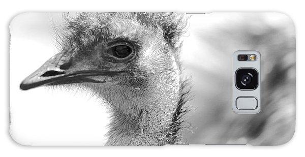 Emu - Black And White Galaxy Case by Carol Groenen